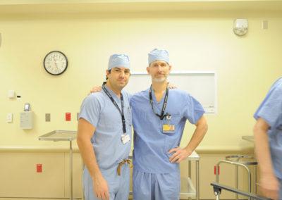 With Dr. Steve Bonawitz